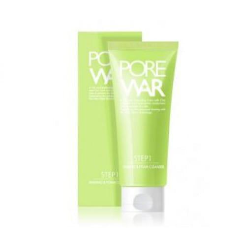 PORE WAR Shaving & Foam cleanser 200g