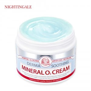 NIGHTINGALE Derma Soothing mineral O₂ Cream (100ml)