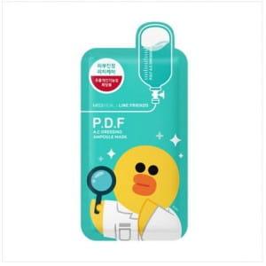 MEDIHEAL Line Friends P.D.F A.C Dressing Ampoule Mask 1box (10pcs)