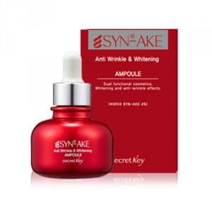 Осветляющая сыворотка для лица Secret Key Synake Anti Wrinkle & Whitening Ampoule 30ml