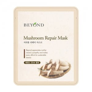 Восстанавливающая листовая маска с грибным экстрактом  Beyond Mushroom Repair Mask Sheet 23.5g