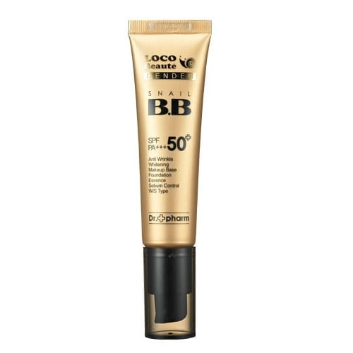 ВВ крем с улиточной слизью Dr.Pharm Snail BB Cream SPF50+ PA+++