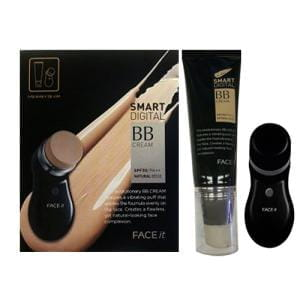 ВВ крем и насадка для массажа The Faceshop Smart Digital BB Cream Vibrating Device SET (BB cream 40ml + Vibrating applicator 1ea)