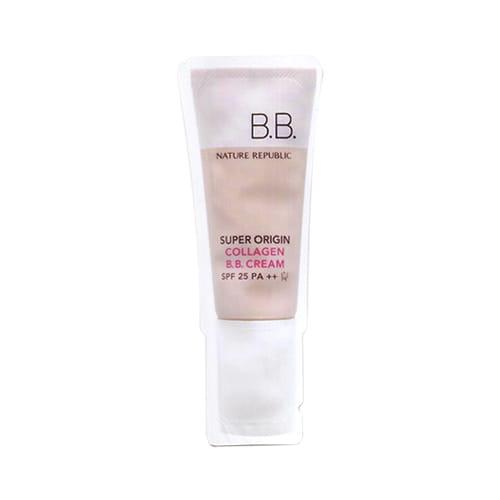 Коллагеновый ВВ крем  Nature Super Origin Collagen B.B. Cream SPF 25 PA++ 1ml *10ea