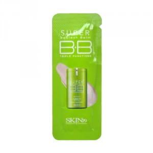 Многофункциональный ВВ-крем Skin79 Super plus beblesh balm triple functions #green SPF30 PA++1ml*10ea