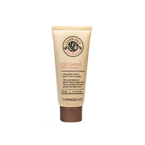 ВВ крем для жирной кожи лица  The Face Shop Clean Face Oil Control BB Cream 35ml