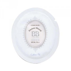 Мультиминеральный ВВ крем Etude Precious mineral bb cream cotton fit SPF30 PA++ 1ml*10ea (New)