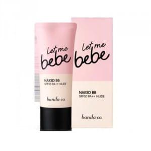 ББ-крем  с увлажняющим эффектом и солнцезащитным фильтром Banila Co Let me BeBe BB Cream 30ml [online].