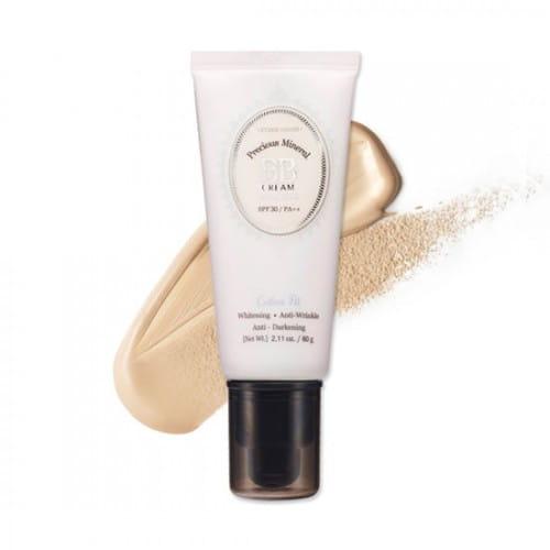 Минеральный ВВ крем Etude House Precious Mineral BB Cream Cotton Fit SPF30 PA++ 60g