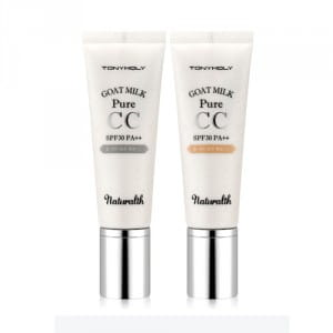 Крем с козьим молоком Tony Moly Naturalth Goat Milk Pure CC SPF30 PA++ 40g