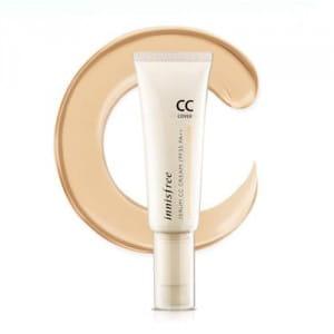 СС-крем с солнцезащитным эффектом  Innisfree Serum CC Cream Cover SPF35 PA++ 35ml