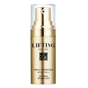 RE:CIPE Slowganic Lifting recipe ample foundation SFP50+/PA+++ 10g