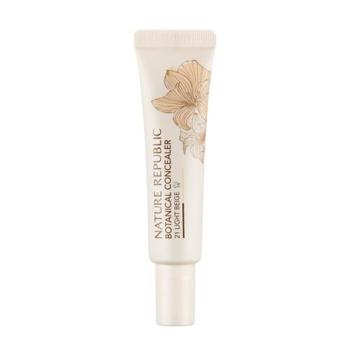 Крем-консилер выравнивающий текстуру и тон кожи NATURE REPUBLIC Botanical Concealer 15g