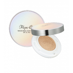 HOPEGIRL Wonder Magic Cover BB Cushion 20g (Color Number:105-light beige)
