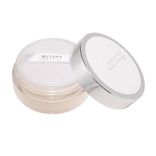 Рассыпчатая пудра Missha The Style Fitting Wear Cashmere Powder #02Natural Beige SPF15 20g