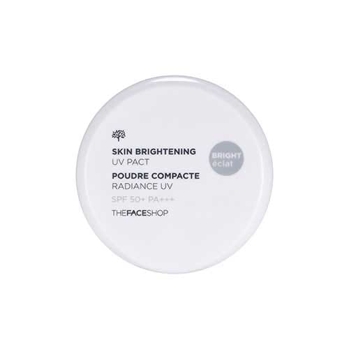 Пудра с защитой от УФ излучения The Face Shop Skin brightening UV pact - 11g (SPF50+ PA+++) No.V201