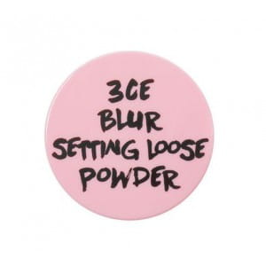STYLENANDA 3CE PINK RUMOUR BLUR SETTING LOOSE POWDER