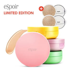 ESPOIR Nude Cushions BY Macaroon Limited Edition (Case + Rifill 15g*2)