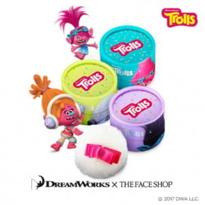 THE FACE SHOP Pastel Cushion Blusher 5g (Trolls Edition)