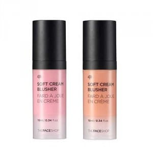 Кремовые румяна The Face Shop Soft cream blusher 10ml