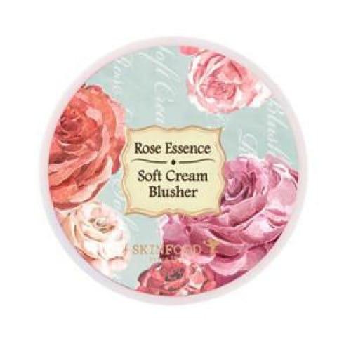 Кремовые румяна для лица Skinfood Rose Essence Soft Cream Blusher 3.5g