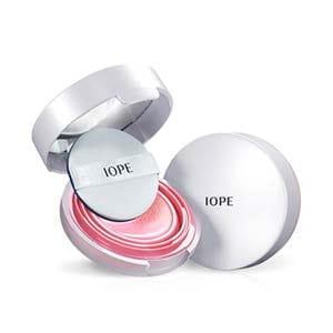 Минеральные румяна с солнцезащитным фильтром Iope Air Cushion Blusher SPF30 PA++ 8g #01 Rose Pink