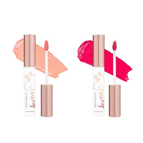 Бальзам для губ и румяна для щек (2 в 1)  Soyoung X Memebox I Wish Lip & Cheek 4.5g