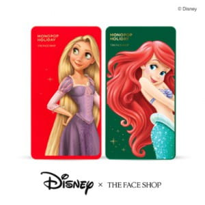 THE FACE SHOP Monopop Holiday 9g (Disney Princess Edition)