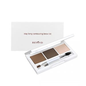 BEYOND Stay Long Contouring Brow Kit 01 Ash Brown 5g