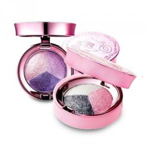 Тени для век Lioele Dolish eye shadow Triple 4g