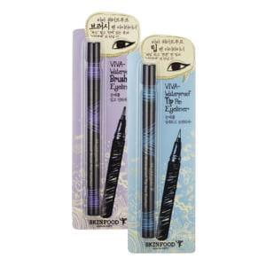 Водостойкий карандаш для глаз SKINFOOD Viva Waterproof Pen Eyeliner 0.5g