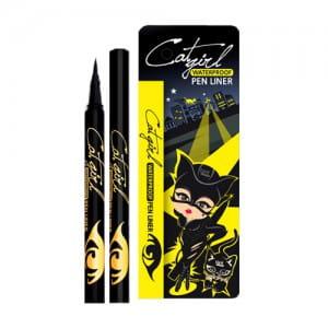 Y.E.T Cat girl Waterproof Pen Liner #Black 0.5g