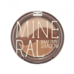 Тени для глаз SKINFOOD Mineral Sugar Triple Shadow 3.8g