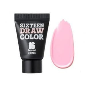 16Brand 16 Draw color #DM03 BABY PINK