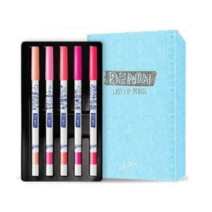 BBIA Last Lip pencil 5color Set