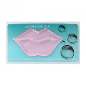 Маска для губ Nature Republic Aqua Collagen Solution Marine Hydrogel Lip Patch 9.5g