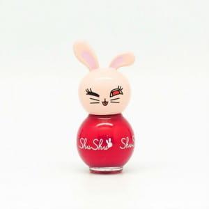 ShuShu Paint Sticker Nail Polish #ST04 Marshmallow Red 10g