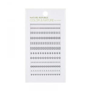 NATURE REPUBLIC Color & Nature Nail Sticker - 03 Jewel Stud 1ea