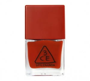 STYLENANDA 3CE Red Recipe Long Lasting Nail Lacquer 10ml