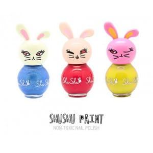 ShuShu Paint Nail 3pcs set