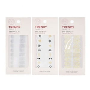 THE FACE SHOP Trendy Nails Dry Decal 1ea