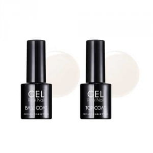 Гелевое базовое и закрепляющие покрытие Missha The Style Real Gel Nail Base & Top Coat 9g