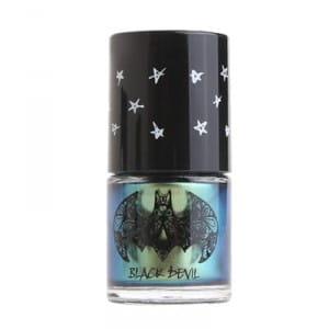 Urban Dollkiss Black Devil Pearl Nail Color #4