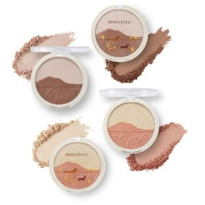 INNISFREE Face shimmering Duo 9g (Jeju Color Picker Edition)