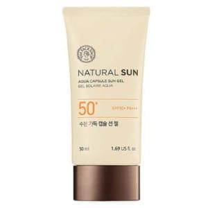THE FACE SHOP Natural Sun Eco Aqua Capsule Sun Gel 50ml