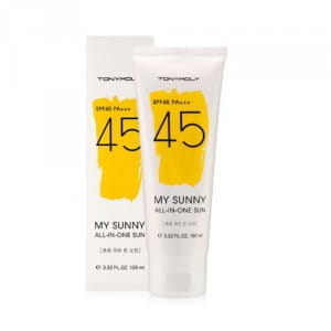 Солнцезащитный гель от Tony Moly My Sunny All In One Sun 100ml (SPF45 PA+++)