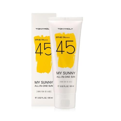 Солнцезащитный гель от Tony Moly My Sunny All In One Sun 100ml (SPF45 PA+++)