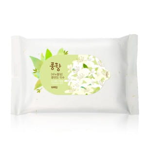 PongDang Soapwort Facial Cleansing Towelttes - 10 sheets