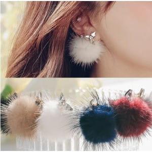 4XTYLE Addline Mink Earrings