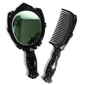 Набор: расческа и зеркало MELON GIFT Baby story Mini Princess Mirror & Comb set